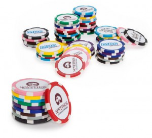 Golf Ballmarker Poker Chips
